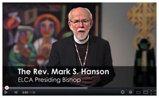 Video message from Bishop Hanson