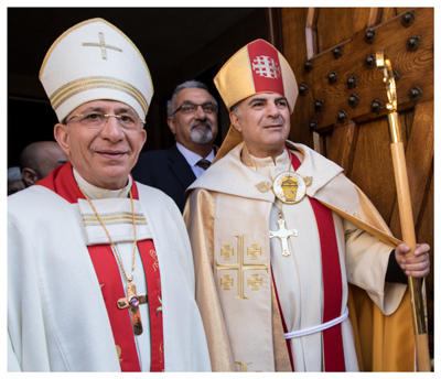 New bishop in the Evangelical Lutheran Church in Jordan and the Holy Land