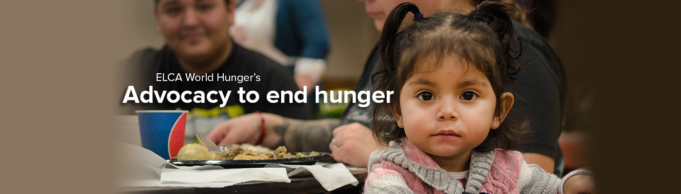 Advocacy to End Hunger