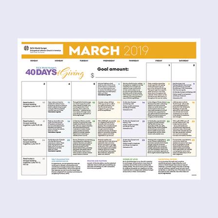 devotional calendar