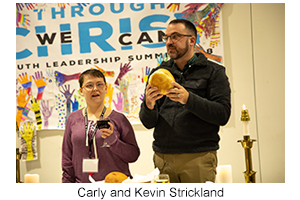 Carly and Kevin Strickland