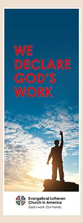 We declare God's work