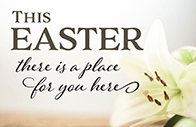 Holy Week and Easter invitations