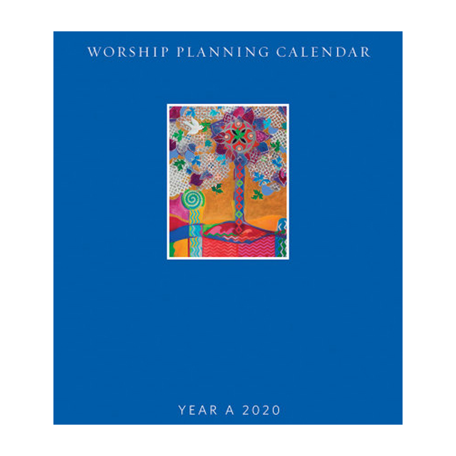 Worship planning calendar