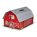 God's Global Barnyard coin box