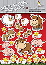God's Global Barnyard stickers